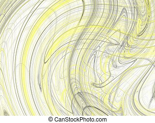 Abstract grunge dirty yellow background on white backdrop