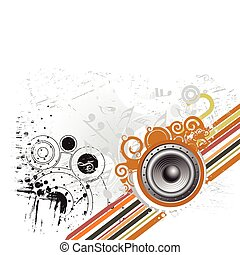 grunge music theme