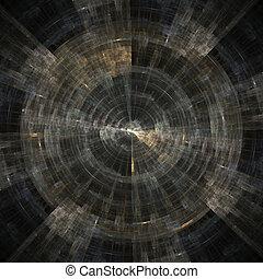 Abstract Grunge Spaceship - abstract grunge spaceship...