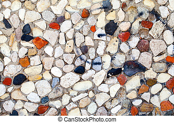 Abstract Grunge Stone Wall