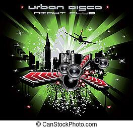 Grunge Urban City Background - Abstract Grunge Urban City ...