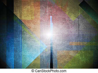 Abstract grunge vector background