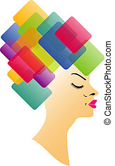 Abstract Hairstyle