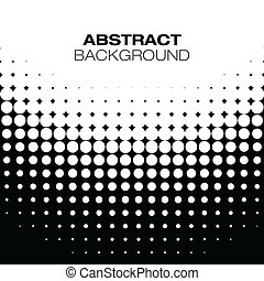 Abstract Halftone Background, vector illustration for your design