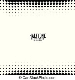abstract halftone circle background design
