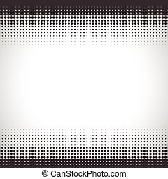 Abstract halftone pattern design in beige and brown.