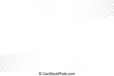abstract halftone white background vector