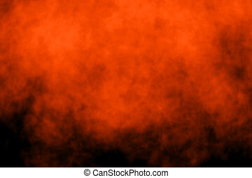 Abstract Halloween Background - Abstract dark fire Halloween...