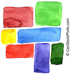 Abstract hand drawn watercolor background