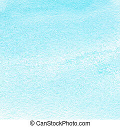 Abstract hand drawn watercolour background. Paint texture, isolated on white