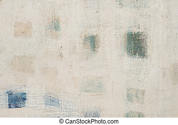 Abstract hand painted canvas background
