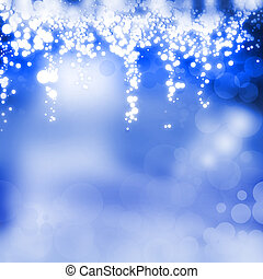 An abstract Happy Holidays Background