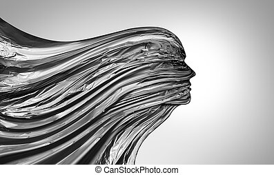 Abstract Head Flow