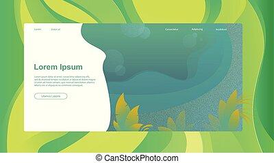 Abstract header website or brochure with lorem ipsum vector