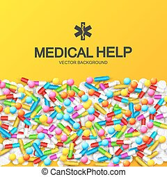 Abstract Healthy Medical Background