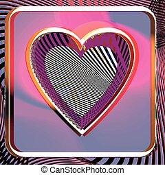 Abstract Heart illustration