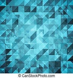 abstract, het fonkelen, geometrisch, achtergrond
