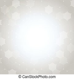 Abstract hexagon background-21
