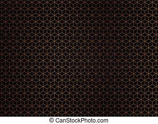Abstract hexagon background. Technology polygonal design-1