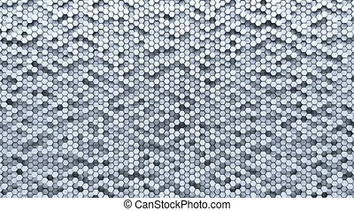 Abstract Hexagon Geometric Surface