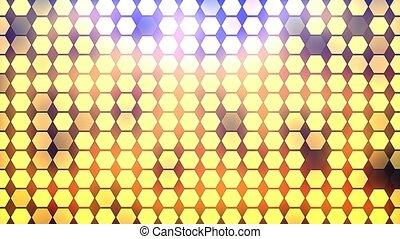 Abstract Hexagon Geometric Surface Loop. - Abstract Hexagon...