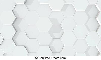 Abstract hexagonal geometric surface. - Beautiful abstract ...
