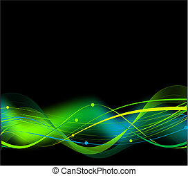 Abstract hi tech background - Abstract hi tech black...