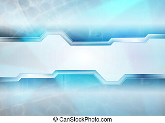 Abstract hi-tech background - Abstract hi-tech elegant...