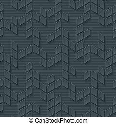 Abstract hi-tech geometric seamless pattern. Neutral...