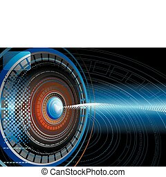 Abstract High-tech Background - Abstract Futuristic ...