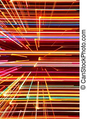 Abstract High Tech Glowing Lines Background