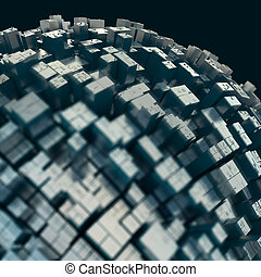 abstract high-technology background - abstract fututristic...