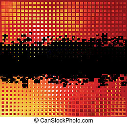 Abstract holiday background with place for your text