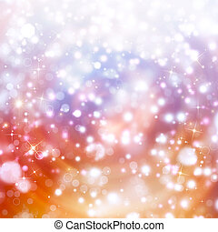 Abstract holiday starry background