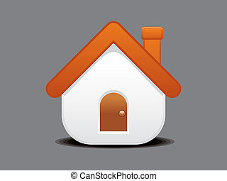 abstract home icon vector illustration
