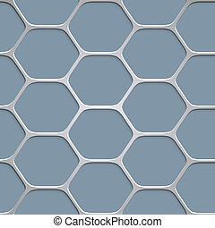 Abstract honeycomb pattern background. Vector EPS10