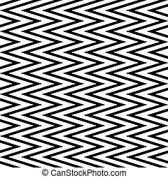 abstract horizontal zigzag seamless pattern