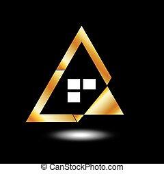 Abstract house- logo