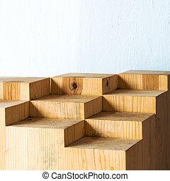 abstract, hout, geometrisch