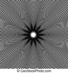 Abstract, hypnotic background