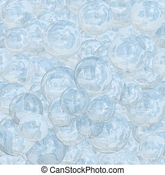 Abstract ice beads background