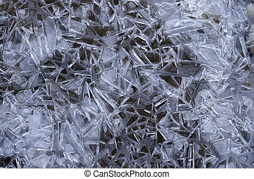 Abstract Ice Crystal background texture