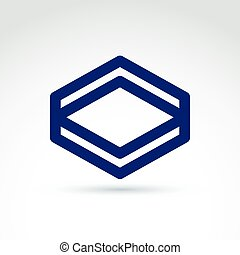 Abstract icon, graphic symbol