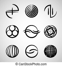 Abstract icons collection 2.