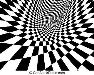 abstract, illusie