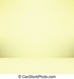 Abstract illustration background texture of gradient wall and flat floor in empty spacious room interior