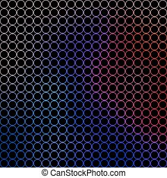 abstract illustration - small colored circles