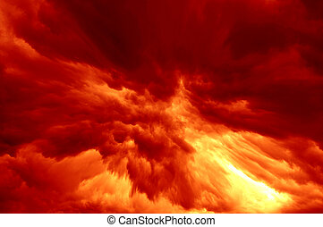 explosion - Abstract image of the explosion