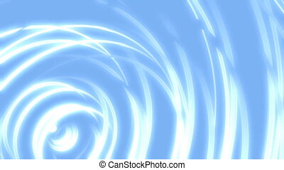 Abstract in Blue Loop