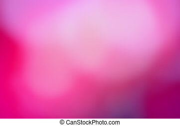 Beautiful background abstract in hot pink tones of blurred light.